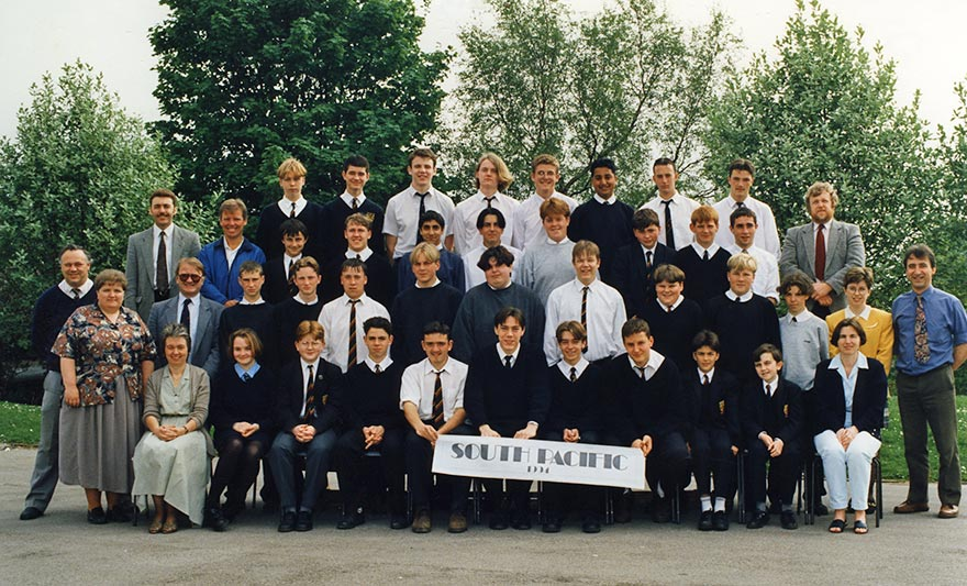 Aberdare Boys Comprehensive School South Pacific 1994