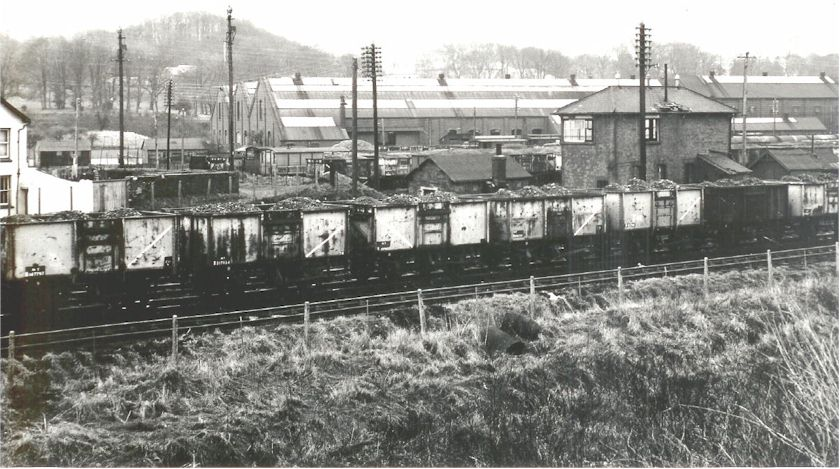 The Old Gwr Engine Aberdare From Tudor Terrace
